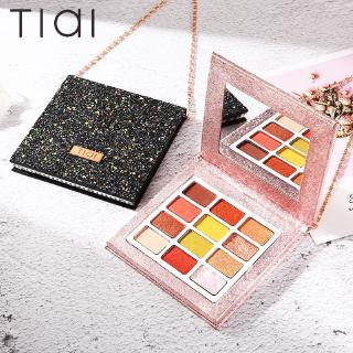 TIAI® Make Up Morning Star Necklace Bag 12 Color Wet Mashed Potatoes Eyeshadow Palette