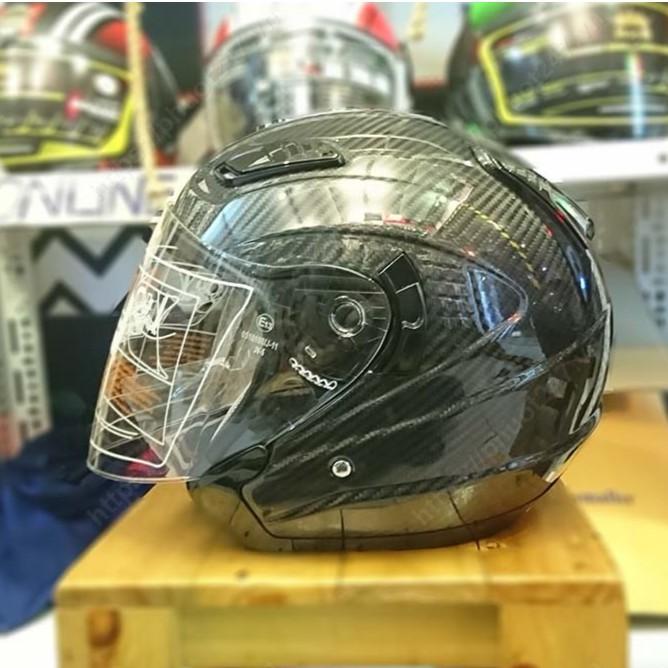 Mũ bảo hiểm 3/4 đầu M04 Carbon - Royal (Full Carbon)