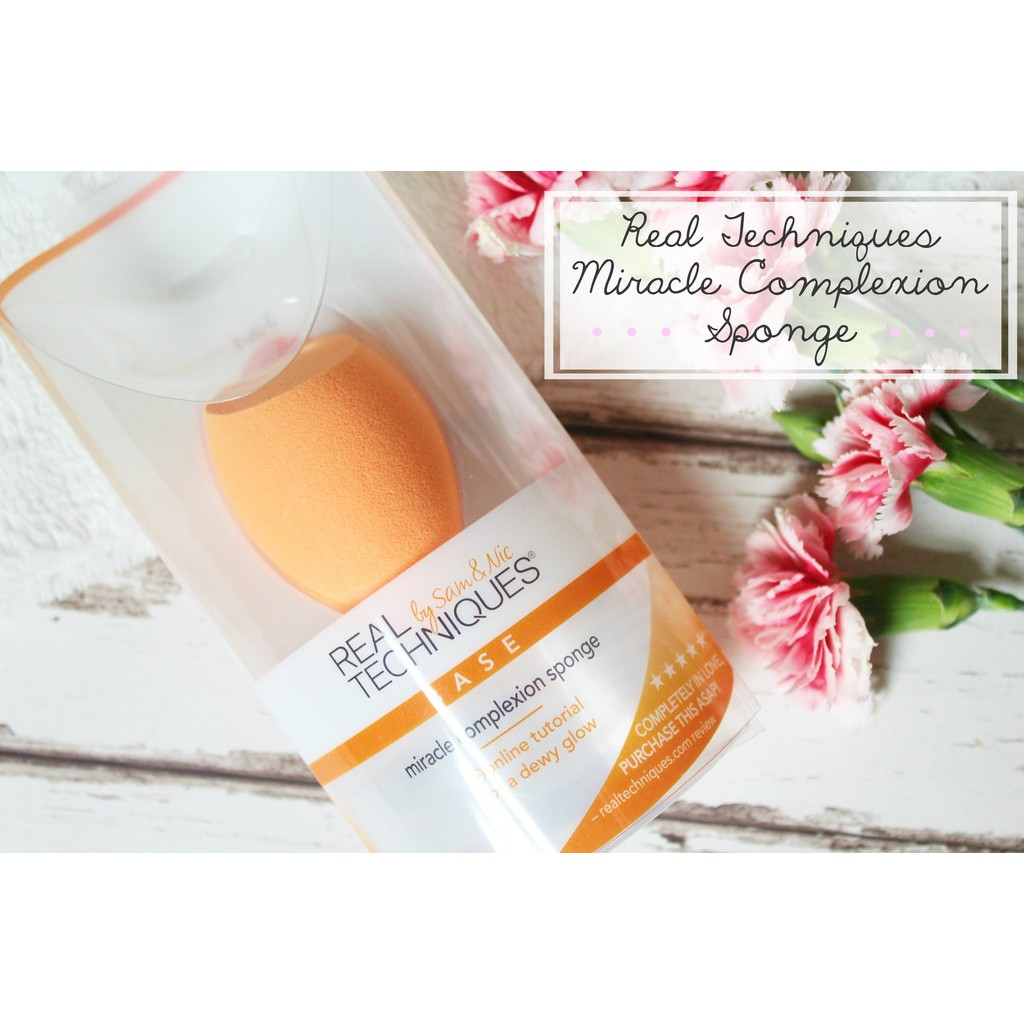 Mút tán nền Real Techniques Miracle Complexion Sponge