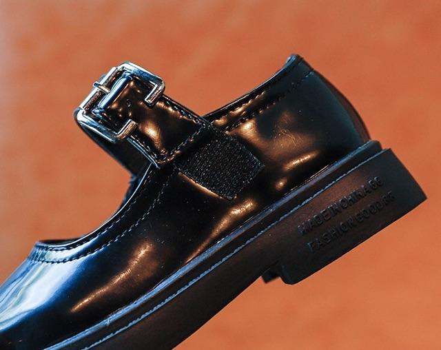 Giày da Vintage cho bé gái xinh xắn- HÀNG QUẢNG CHÂU CAO CẤP