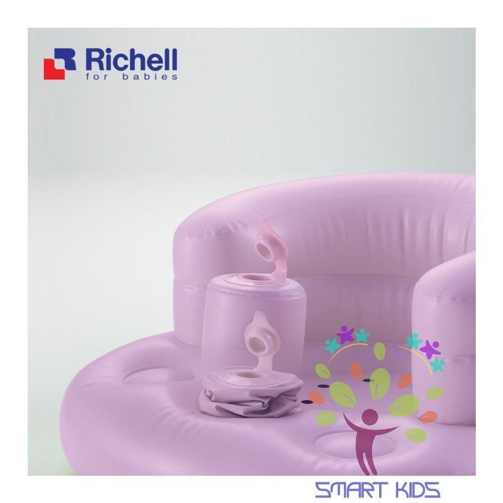 (Chính Hãng) Ghế hơi tập ngồi Richell Nhật Bản