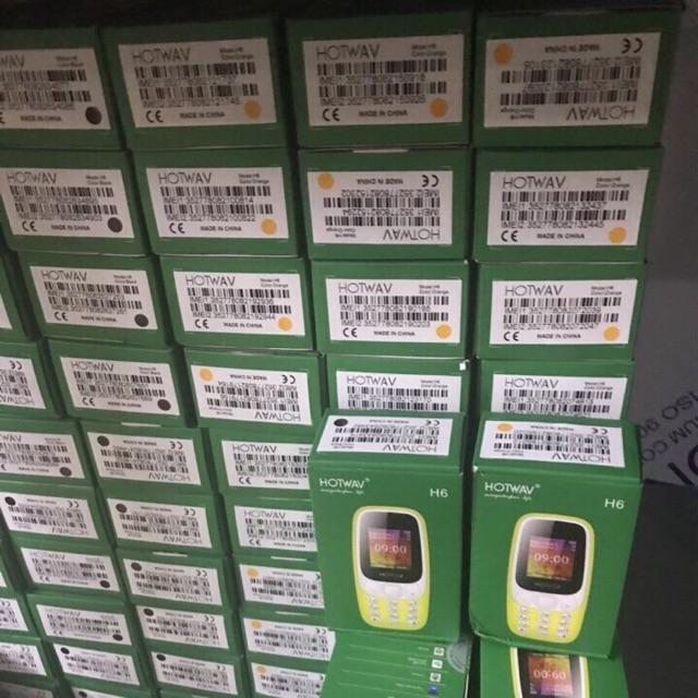 Điện thoại hotwav H6 combo 10 máy hàng chính hãng