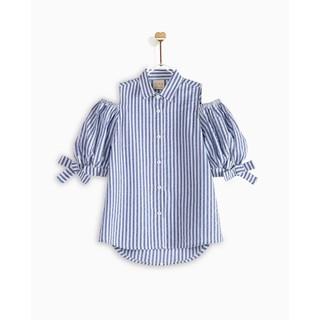 Áo Kiểu Bé Gái M.D.K Cut-out Shirt M.D.K
