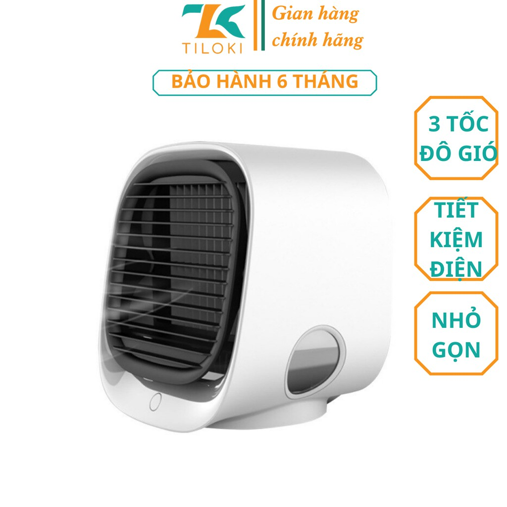 Quạt điều hòa hơi nước mini để bàn TiLoKi Air Cooler M201 3 tốc độ tiết kiệm điện