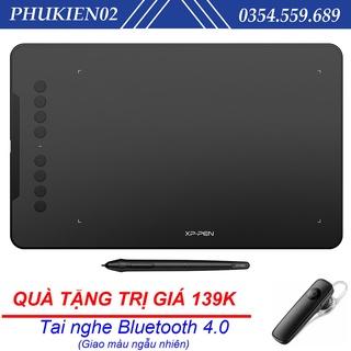 (Quà tặng 139k) Bảng Vẽ Điện Tử XP-Pen Deco 01 v2 Android 6x10 Inch Lực Nhấn 8192 Hỗ trợ Cảm Ứng Nghiêng thumbnail