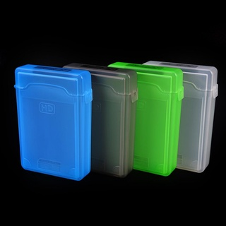 "[cheesenhbh] 3.5"" inch IDE SATA HDD Hard Drive Disk Plastic Storage Box Case Enclosure Cover [cheesenhbh]"