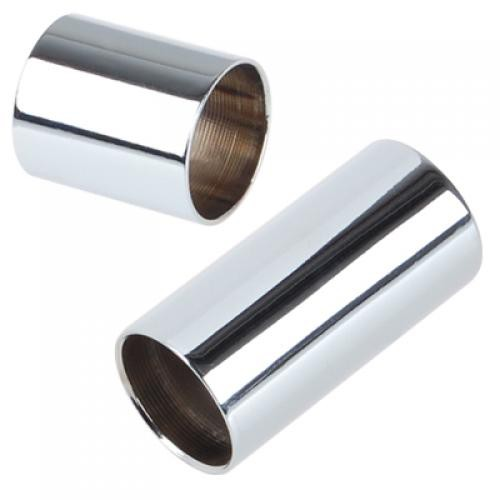2 Cylinder Stainless Steel Guitar Slides
