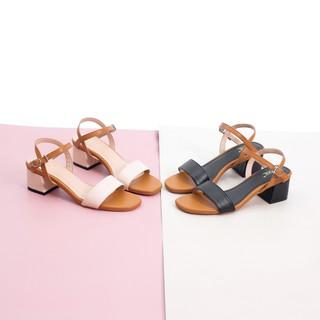 Hình ảnh [Nhập mã WS0606 giảm 20% tối đa 50K ] Giày Sandal Cao Gót 5cm Mix Nhiều Màu Pixie X476-2