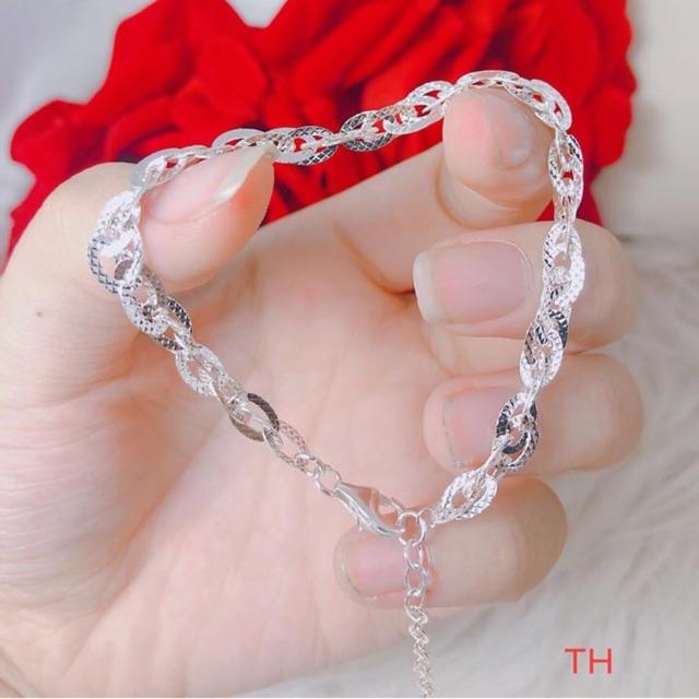 Lắc tay phay hoa thị sáng đẹp chuẩn bạc ta - 22516677 , 3808935955 , 322_3808935955 , 170000 , Lac-tay-phay-hoa-thi-sang-dep-chuan-bac-ta-322_3808935955 , shopee.vn , Lắc tay phay hoa thị sáng đẹp chuẩn bạc ta