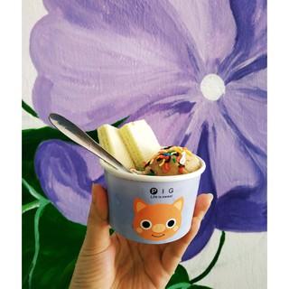 50 cốc giấy 130-200-300ml có nắp đựng kem, sữa chua, bánh, chè có nắp - Paper cup Hộp giấy cute thumbnail