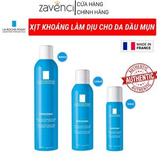 Xịt khoáng LA ROCHE POSAY Xịt khoáng dưỡng da giúp làm dịu da và giảm bóng nhờn cho da dầu mụn Serozinc (300ml) thumbnail