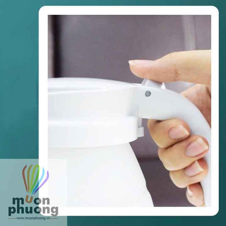 Bình đun nước siêu tốc xếp gọn sử dụng nguồn điện 220V – 50Hz tiện dụng gọn nhẹ dễ dàng mang theo - MUÔN PHƯƠNG SHOP