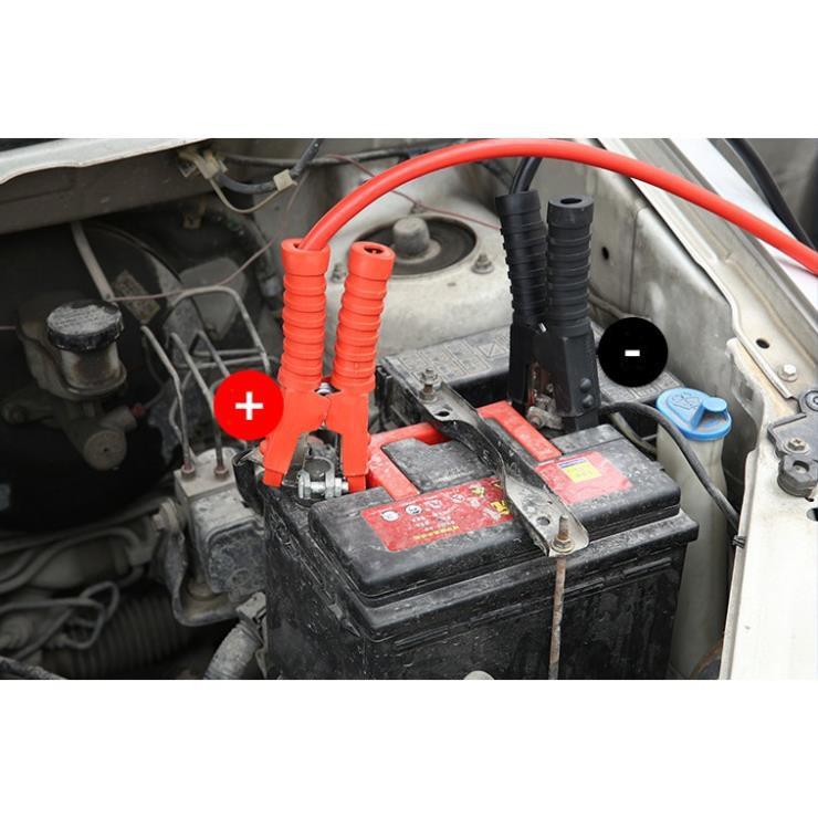 Bộ dây câu bình ắc qui 500A, 1000A, 2000A lõi đồng lớn - Better Car
