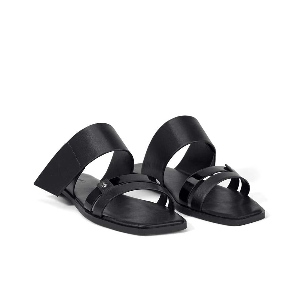 Juno - Giày sandal hở gót quai ngang SD
