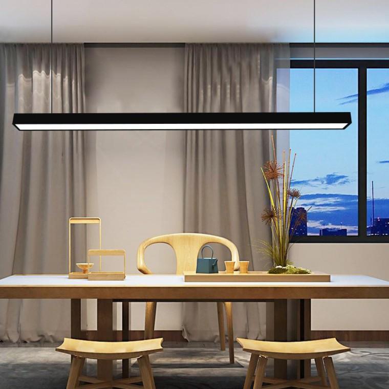 Đèn thả trần MONSKY AXULY cao cấp khung nhôm ánh sáng trắng hiện đại