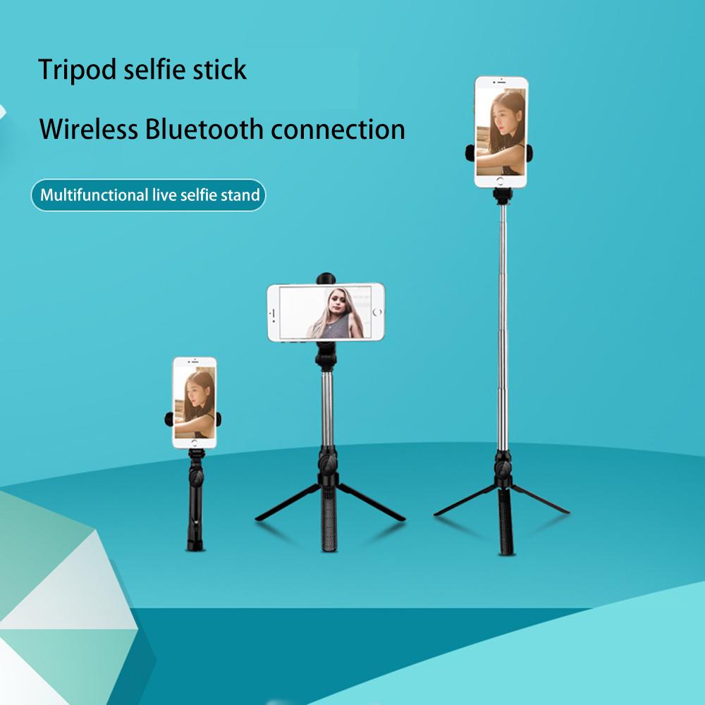 Gậy Chụp Ảnh Xt10 Xoay 360 Độ Kết Nối Bluetooth Kèm Remote Điều Khiển