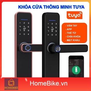 Khóa Cửa Vân Tay Thông Minh Wifi Tuya X2