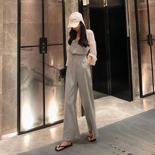 Hong Kong-flavored chic temperament slim backless hanging neck high waist slimmi