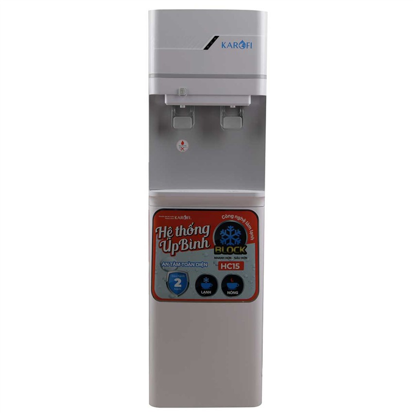 Cây nước nóng lạnh Karofi HC-15 bình úp- Hàng chính hãng thumbnail