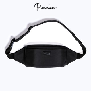 [CHÍNH HÃNG] Túi bao tử túi đeo chéo Bumbag chính hãng Rainbow vải canvas chống nước nhiều ngăn đa năng BG002