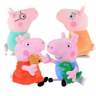Gia đình heo Peppa Pig (2 heo ba mẹ 30cm + 2 heo con 22cm)