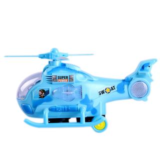 Plastic Flying Helicopter Model Plane Toy Mini Planes Gifts for Kids Boys @ZJF