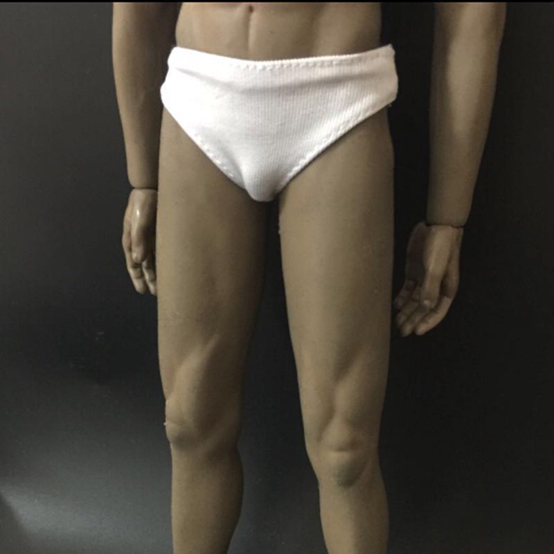 "BNB 3 Colors 1:6 Scale Male Soldier Underwear Briefs Clothes Fit 12"" Body"