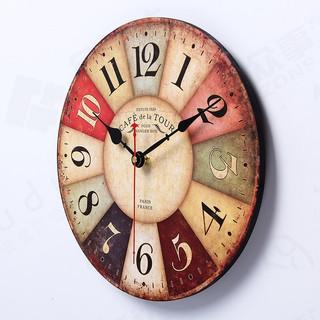 Đồng hồ treo tường trong decor trang trí 30cm