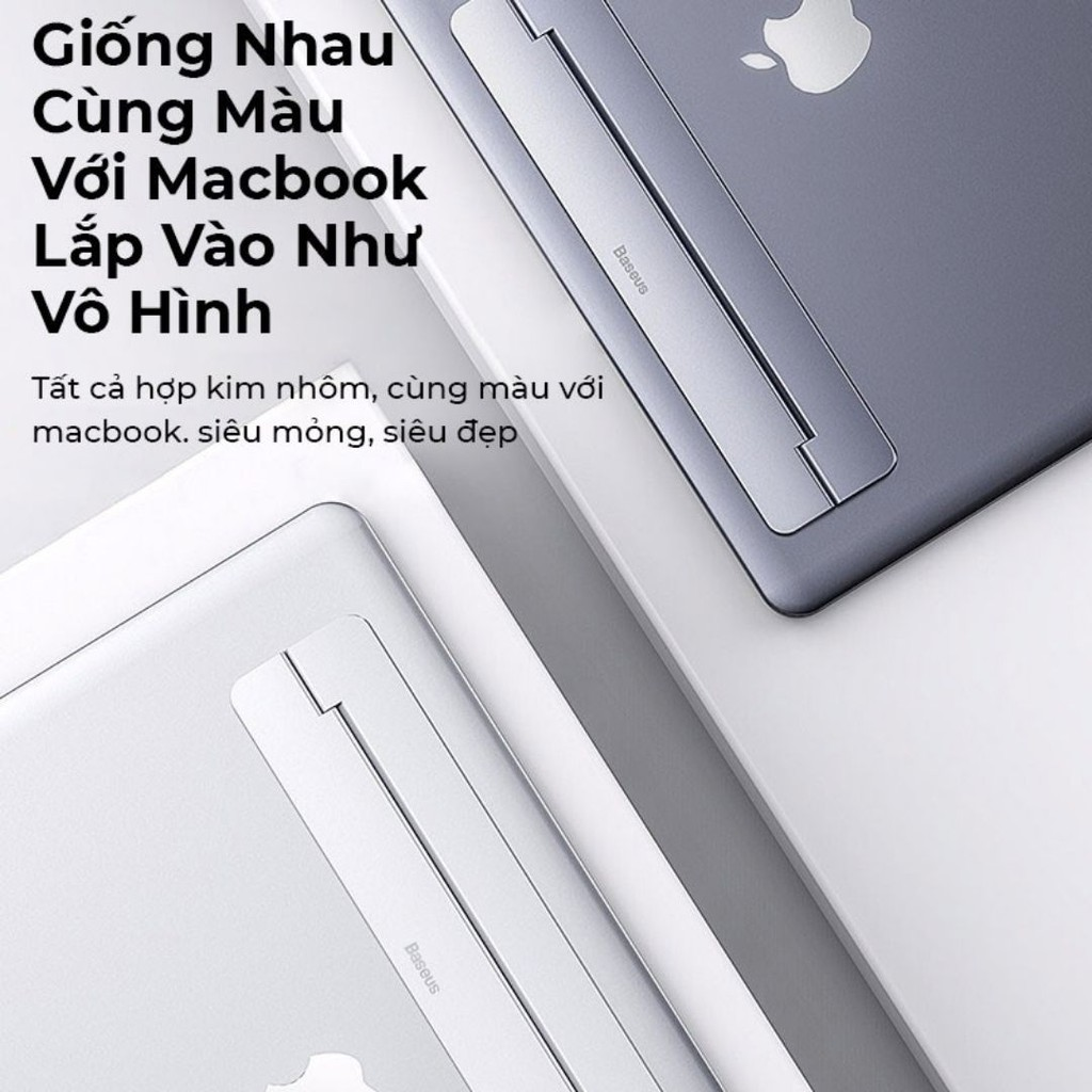 Đế tản nhiệt siêu mỏng dùng cho Macbook/Laptop Baseus Papery Notebook Holder