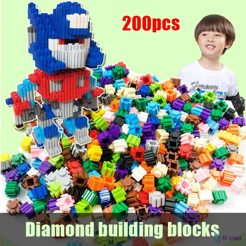 200Pcs/set DIY Creative Building Blocks Legoed Mixed Bulk Toys For Kids