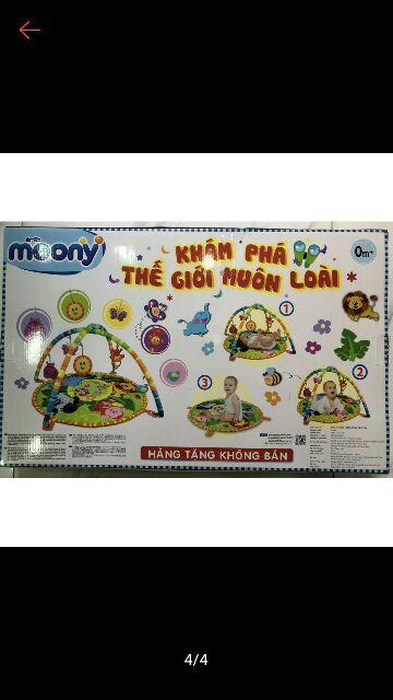 Thảm chơi cho bé winfun - quà tặng moony