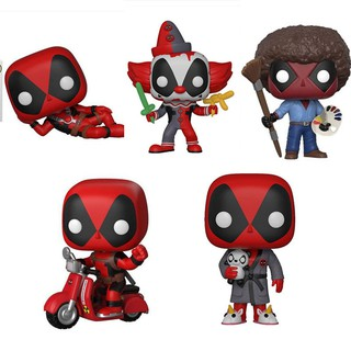 POP319 Deadpool robe 322 clown Deadpool 48 # motorcycle doll toy gift