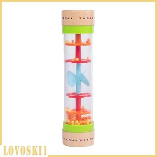 [LOVOSKI1] Rainstick Rainmaker Rain Shaker Sensory Sound Rattle Activity Toy Instrument