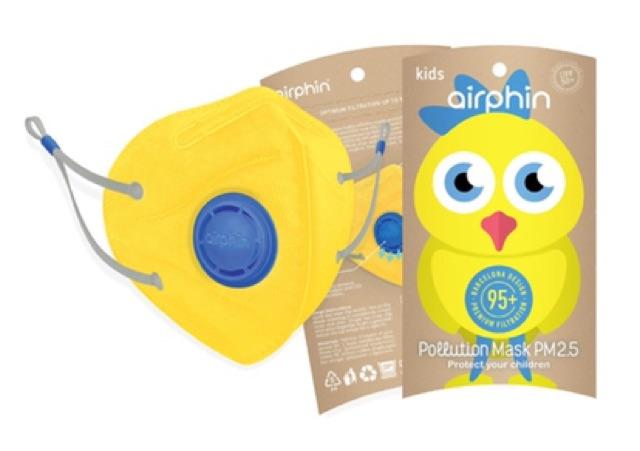 Khẩu trang Airphin trẻ em - Tiêu chuẩn - 1 size