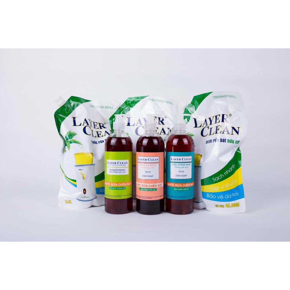 Nước rửa chén hữu cơ Layer Clean 800ml - 9961553 , 392030673 , 322_392030673 , 28500 , Nuoc-rua-chen-huu-co-Layer-Clean-800ml-322_392030673 , shopee.vn , Nước rửa chén hữu cơ Layer Clean 800ml