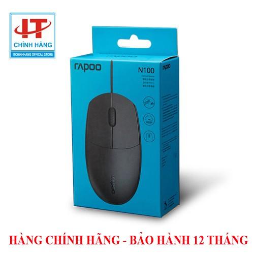 Bảo hành 12 tháng - Chuột văn phòng Rapoo N100 siêu bền