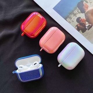 Laser light bling Apple Airpods Pro Protection Case Hard Portable Earphone Cover