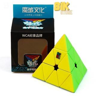Rubik Tam Giác Pyraminx MoYu MeiLong Pyraminx Stickerless Xoay Mượt , Lõi Cứng Cáp, Bền - TG02 thumbnail
