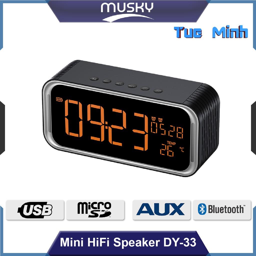 Loa nghe nhạc Bluetooth Musky DY-33 - Màn hình hiển thị, đèn Led, kết nối âm thanh bluetooth, usb, t - 9978318 , 993306931 , 322_993306931 , 590000 , Loa-nghe-nhac-Bluetooth-Musky-DY-33-Man-hinh-hien-thi-den-Led-ket-noi-am-thanh-bluetooth-usb-t-322_993306931 , shopee.vn , Loa nghe nhạc Bluetooth Musky DY-33 - Màn hình hiển thị, đèn Led, kết nối âm tha