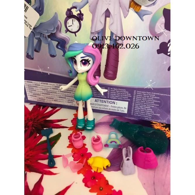 Búp bê Princess CELESTIA kèm 2 set Trang phục & Phụ kiện - MY LITTLE PONY Fashion Squad