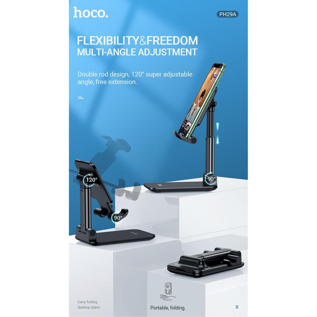Giá đỡ điện thoại, máy tính bảng Hoco PH29A (Chính hãng)