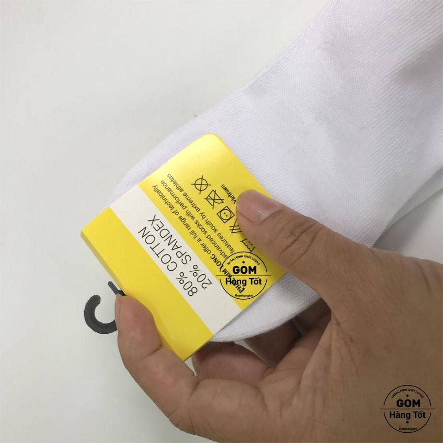 [Mã FAMS8 hoàn 8K xu đơn bất kỳ] Tất trơn CỔ NGẮN Nam Nữ VNXK chuẩn xuất Nhật chất liệu cotton thoáng mát khử mùi