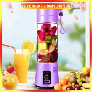[ Hàng Xuất Nhật ] - Máy xay sinh tố mini cầm tay sạc điện usb cup 38 dạng cốc say ép hoa quả trái cây