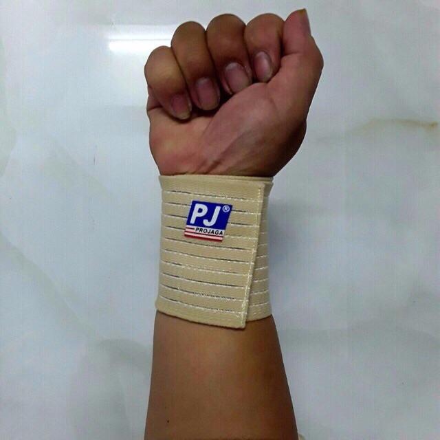 Băng quấn bảo vệ cổ tay PJ ( 1 Chiếc ) Quấn cổ tay tập GYM -Bó cổ tay PJ -Quấn cổ tay PJ