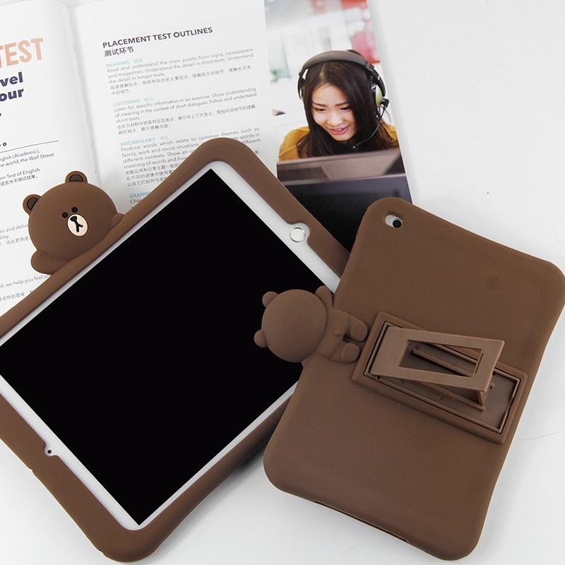 iPad 6 Case Cover iPad Mini 4 For Apple Bear Tablet iPad Air 2 Soft For iPad Mini 1 2 3 Cartoon