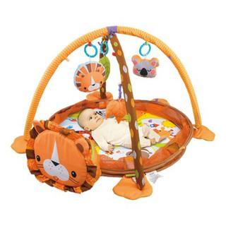 Thảm nằm chơi hình sư tử 2 trong 1 Konig Kids 63571