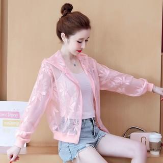Áo Khoác Nữ Tay Dài Chống Nắng Thời Trang Hàn Quốc thumbnail