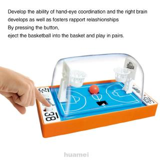 Desktop Handheld Early Education Funny Interactive Play Mini Portable Parent Child 2 Players Finger Basketball Toy