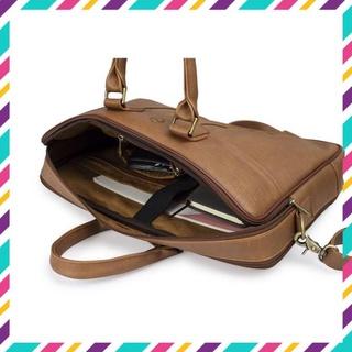[ẢNH THẬT] Túi xách công sở - Túi xách laptop - Chống sốc cao cấp HANAMA Dala 3s - Cặp da - cặp laptop thumbnail