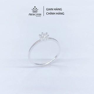 [Mã FARSBR151 giảm 100% đơn 0đ] Nhẫn Mảnh 6 Chấu Trơn Bạc Ta - Minh Canh Jewelry thumbnail